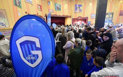 KRC Genk kids fan happening Plopsa Indoor